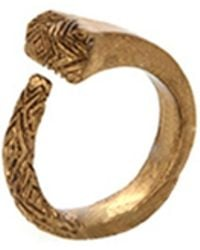 House Of Harlow 1960 All For The Want Of A Horseshoe Ring gold - Lyst