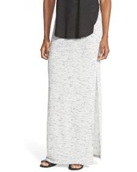 The Hanger - Heathered Knit Maxi Skirt - Lyst