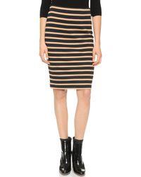 Won Hundred Addie Skirt - Black