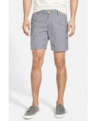 Gant Rugger Men'S Gingham Oxford Shorts - Lyst