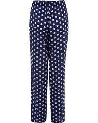 Princesse Tam-Tam - Blue Rose Polka Dot Pyjama Bottoms - Lyst