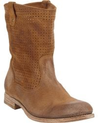 NDC Perforated Tiffany Boots - Lyst
