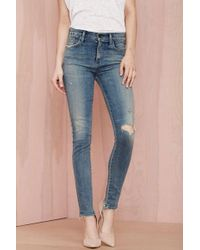 Nasty Gal Citizens Of Humanity Rocket High Rise Skinny Jean - Lyst
