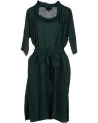Vivienne Westwood Anglomania Knee Length Dress - Lyst