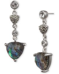 Judith Jack - Starry Night Pendant Earrings - Lyst