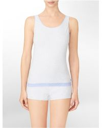 Calvin Klein Underwear Ck One Cotton Tank Top - White