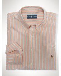 Polo Ralph Lauren Classic Striped Oxford Shirt - Lyst