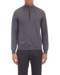 Piattelli Half-Zip Pullover Sweater - Lyst