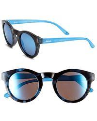 Kensie | 'monroe' 49mm Polarized Sunglasses | Lyst