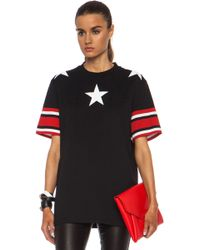 Givenchy Stars and Stripes Cotton Tee - Lyst