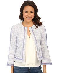 Nanette Lepore Graphic Jacket - Lyst