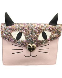 Betsey Johnson - Kitsch Kitten Clutch - Lyst