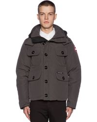 Canada Goose Gray Selkirk Parka - Lyst