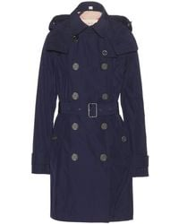 Burberry Brit Balmoral Technical Taffeta Trench Coat - Lyst