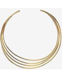 Philippe Audibert - Molded 4 Wire Choker: Gold - Lyst