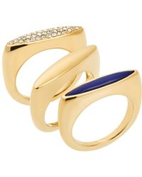 Michael Kors Rings, Set Of 3 gold - Lyst