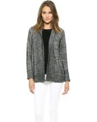 J Brand Ivanka Sweater  Blackwhite Marl - Lyst