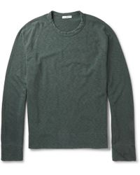 James Perse Loopback Supima Cotton Sweatshirt - Lyst