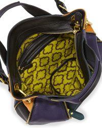 orYANY - Lian Small Zip Satchel Bag - Lyst