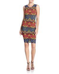M Missoni Intarsia-Print Tank Dress - Lyst
