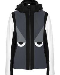 Fendi Creatures Hooded Ski Jacket - Lyst