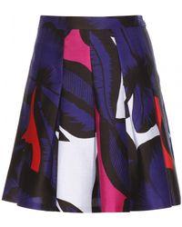 Diane von Furstenberg Gemma Printed Skirt - Lyst