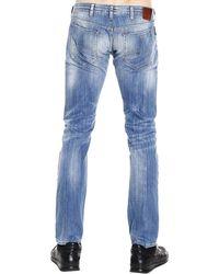 Giorgio Armani - Jeans Denim Used Slim 8,5 Once - Lyst
