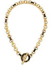 Marc By Marc Jacobs - Enamel Toggle Necklace Black - Lyst