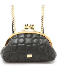 Boutique Moschino - Backpack / Purse Bag - Black/gold - Lyst