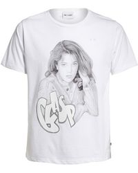 One T Shirt - By Silvia Prada 'generation X - Drew Barrymore' Graphic Unisex Tee - Lyst