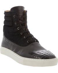 Alexander McQueen Vacuumstudded Hightop Sneakers - Lyst
