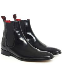 Jeffery West | Scarface Patent Chelsea Boots | Lyst