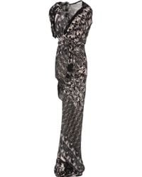 Aminaka Wilmont Long Dress brown - Lyst
