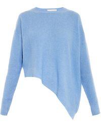 Stella McCartney Cashmere And Silk-Blend Sweater - Lyst