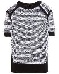 Nina Ricci Knitted Top - Lyst