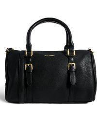 Pull&Bear - Bowler Handbag in Black - Lyst