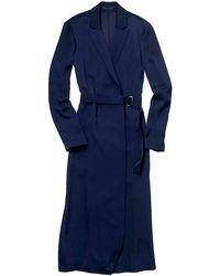 Theory Amitara Dress In Modern Georgette - Lyst