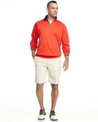 Bobby Jones Competition Quarter-Zip Pullover Sweatshirt - Red
