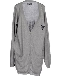 5preview Gray Cardigan - Lyst