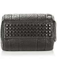 Alexander Wang - Rockie In Pebbled Black With Matte Black - Lyst