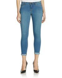 Free People Stretch Denim Skinny Jeans - Lyst