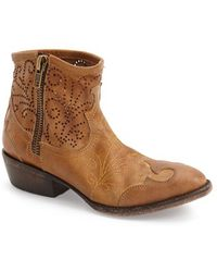 Baske California - Slinger Perforated Western Boots - Lyst