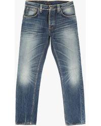 """Nudie Jeans 34"""" Steady Eddie Jean blue - Lyst"""