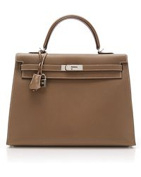 Heritage Auctions Special Collection Hermes 35cm Etain Epsom Sellier Kelly - Lyst