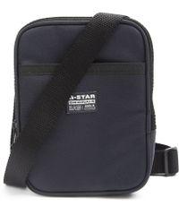 G-Star RAW Originals Grey Small Shoulder Pouch Bag Nylon - Lyst