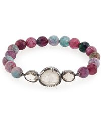 Tai - Multicolor Glass Bead Station Bracelet - Lyst