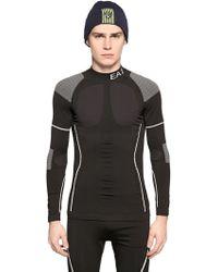 EA7 - Seamless Ardor Ski Base Layer T-shirt - Lyst