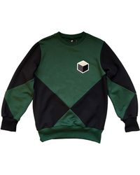 Studio_805 Intersect Sweatshirt green - Lyst