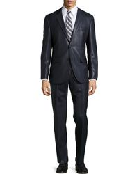 Hugo Boss Shiny Two-piece Suit - Lyst