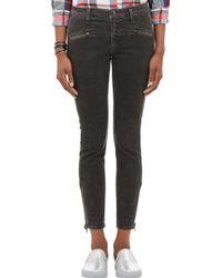 Current/Elliott The Soho Zip Stiletto Jeans - Lyst